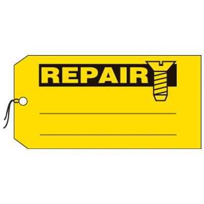 Repair - Production Status Tags