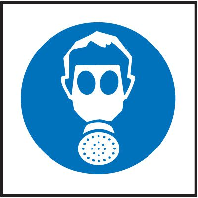 Vapor Respirator Right-To-Know Labels
