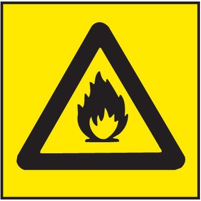 Flammable Right-To-Know Labels