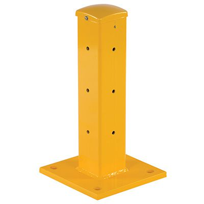 Rigid Post for Guard Rail