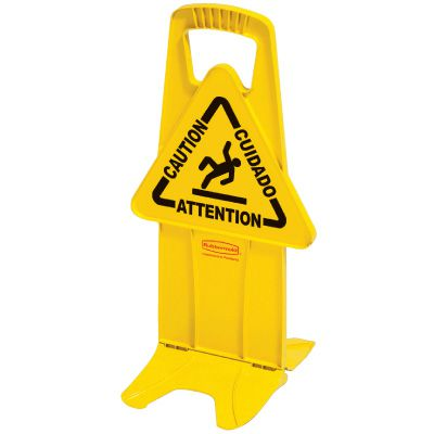 Rubbermaid Stable Safety Sign 9S09