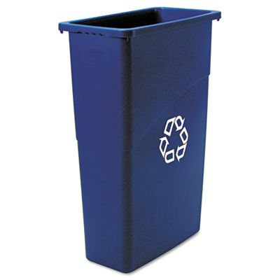 Rubbermaid® Commercial Slim Jim® Recycling Container RCP354075BE