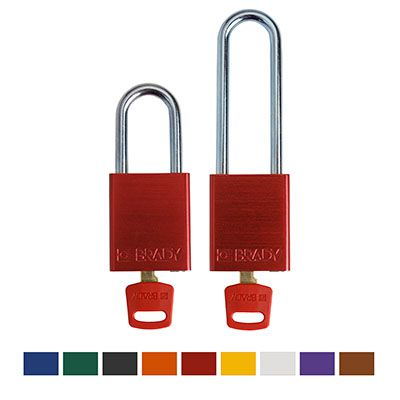 Brady® SafeKey Aluminum Lockout Padlocks