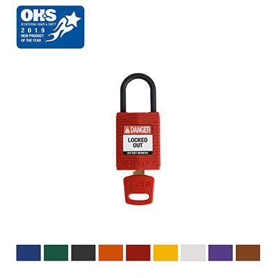 Brady® SafeKey Compact Nylon Lockout Padlocks