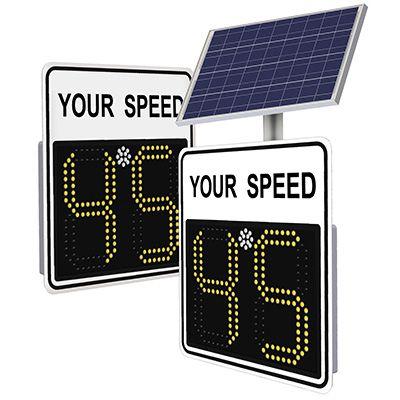 SafePace 450 Radar Feedback Sign