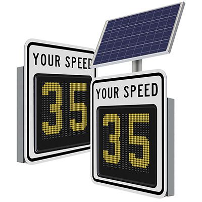 SafePace 650 Radar Feedback Sign