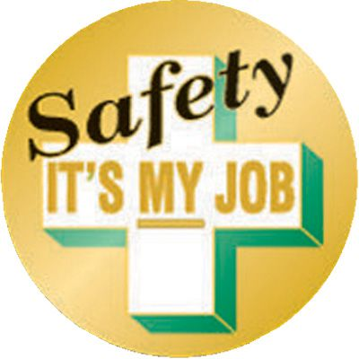 Safety It's My Job Pin