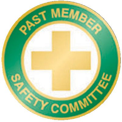 Past Member Safety Committee Pin