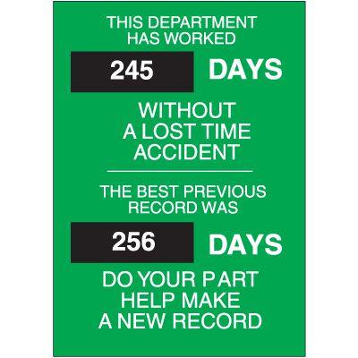 Safety Scoreboards