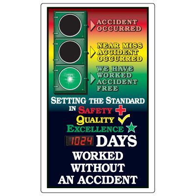 Safety Signal Scoreboards - Setting The Standard