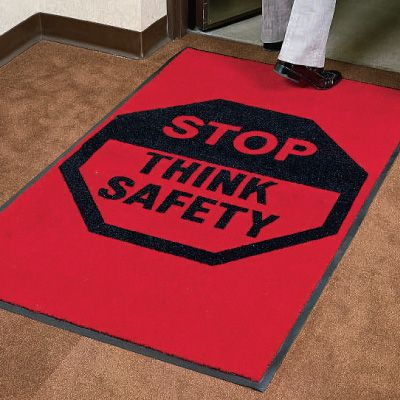 Safety Slogan Carpet Mats 1105374