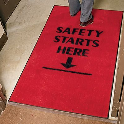 Safety Slogan Carpet Mats 1990473