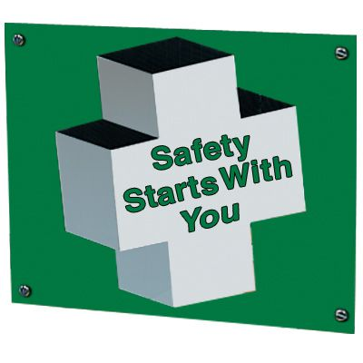 Safety Suggestion Sign - Safety Starts With You