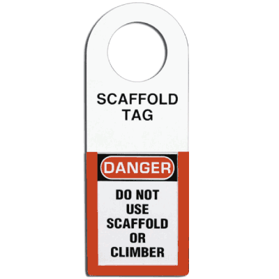 Scaffold Status Tag Holder