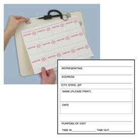 School Visitor Log System -  Kit