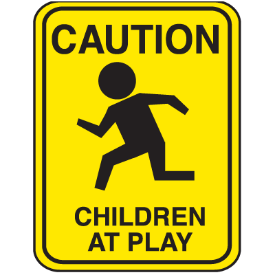 School Zone Signs - Caution Children At Play | Seton