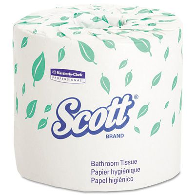 Scott Standard Roll Two Ply Bathroom Tissue 1840