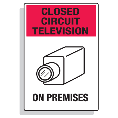 Security Camera Signs - Closed Circuit Television