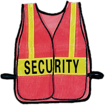 Security Safety Vests- SECURITY