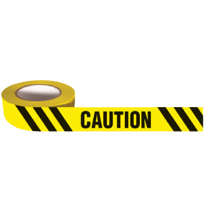 Nadco Caution Message Tape 3X200-SAWT3