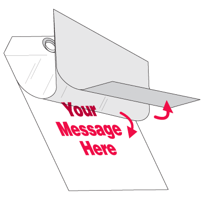 Self-Laminating Tags - Blank
