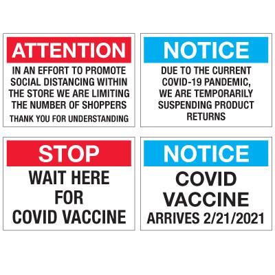 Semi-Custom Facility Signs
