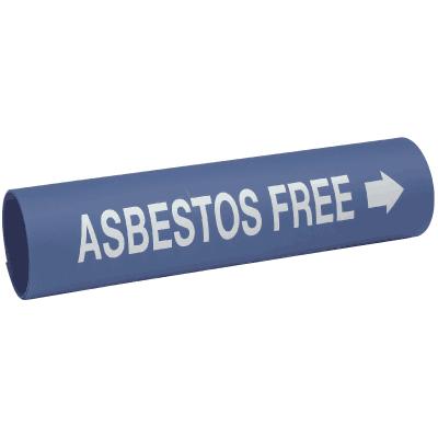 Setmark® Snap-Around Pipe Markers - Asbestos Free