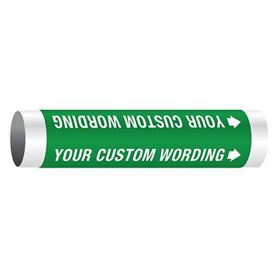 Custom Setmark® Snap-Around Pipe Markers