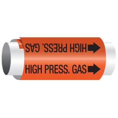 High Pressure Gas - Setmark® Pipe Markers