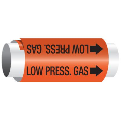 Low Pressure Gas - Setmark® Pipe Markers