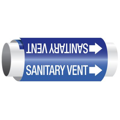 Sanitary Vent - Setmark® Pipe Markers