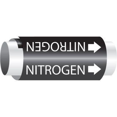 Setmark® Snap-Around Pipe Markers - Nitrogen