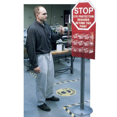 Seton Safety Stop Station - Eye Protection