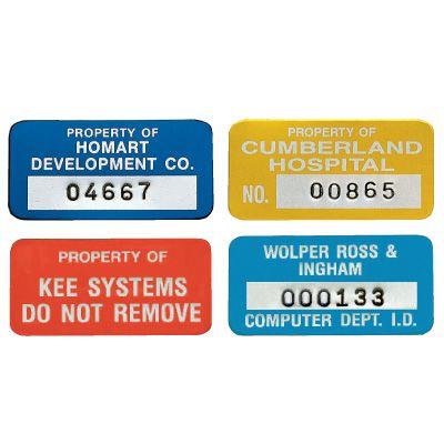Custom SetonGuard® Asset Plates