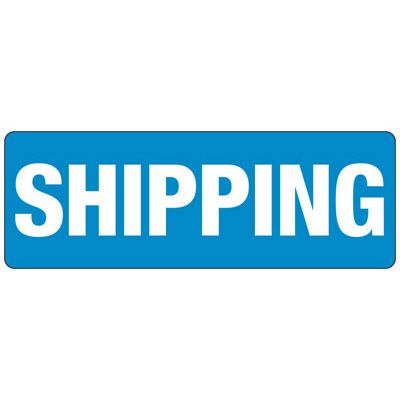 Shipping - Industrial Shipping and Receiving Signs