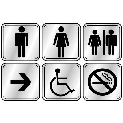 Signway Graphics Restroom Signs