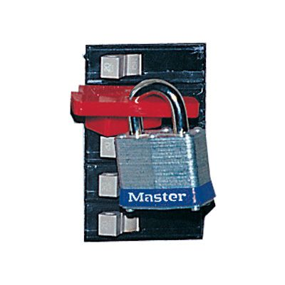 Brady® Breaker Lockout Hardware - Single-Pole