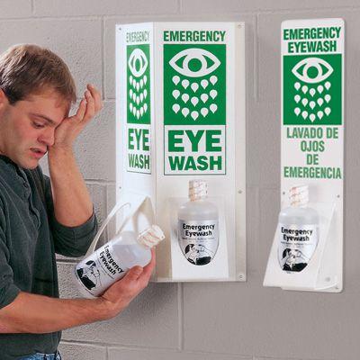 Slim-Line Eyewash Station