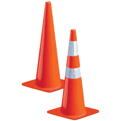 Slim-Line Traffic Cones