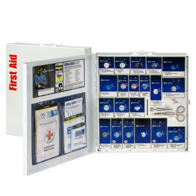 SmartCompliance™ Large Food Service First Aid Cabinet w/ Meds