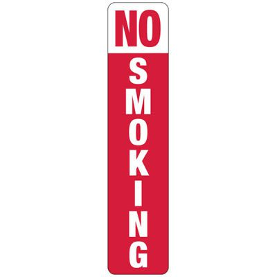 No Smoking (Vertical) - Industrial Smoking Signs
