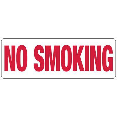 No Smoking (Symbol) - Industrial Smoking Signs