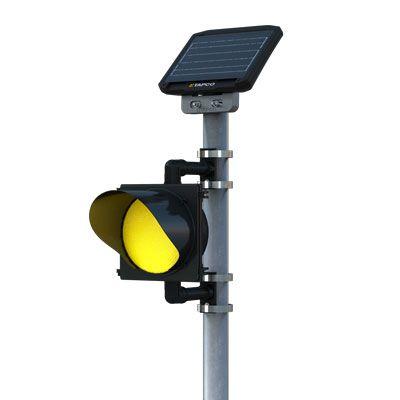Solar LED Flashing Beacons