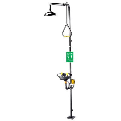 Speakman® Safe-T-Zone® Combination Shower and Eye Wash Station SE-626