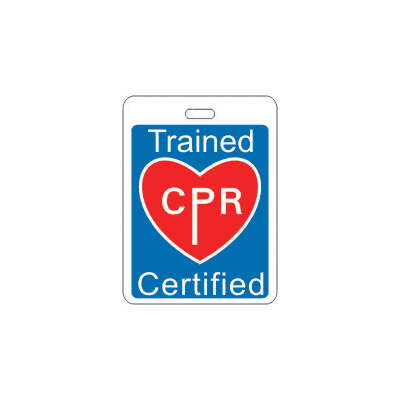 Specialty ID Badges - CPR Certified