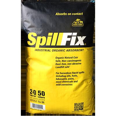 SPILLFIX 2-in-1 Spill Absorbent 7 lb bag