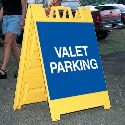 Standard A-Frame Valet Parking Signs