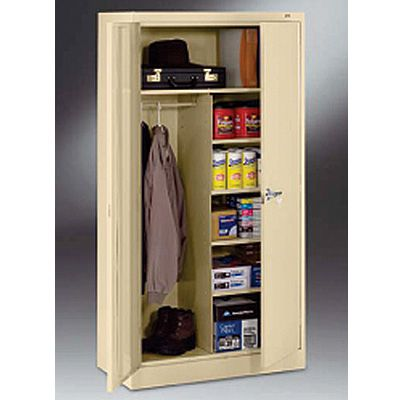 18-deep Tennsco Combination Storage Cabinets