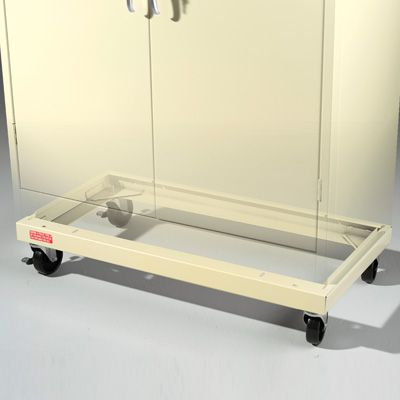 Caster Kit for 18-deep Tennsco Storage Cabinets