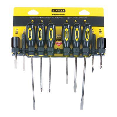 Stanley® - 10 Pc. Standard Fluted Screwdriver Sets 60-100